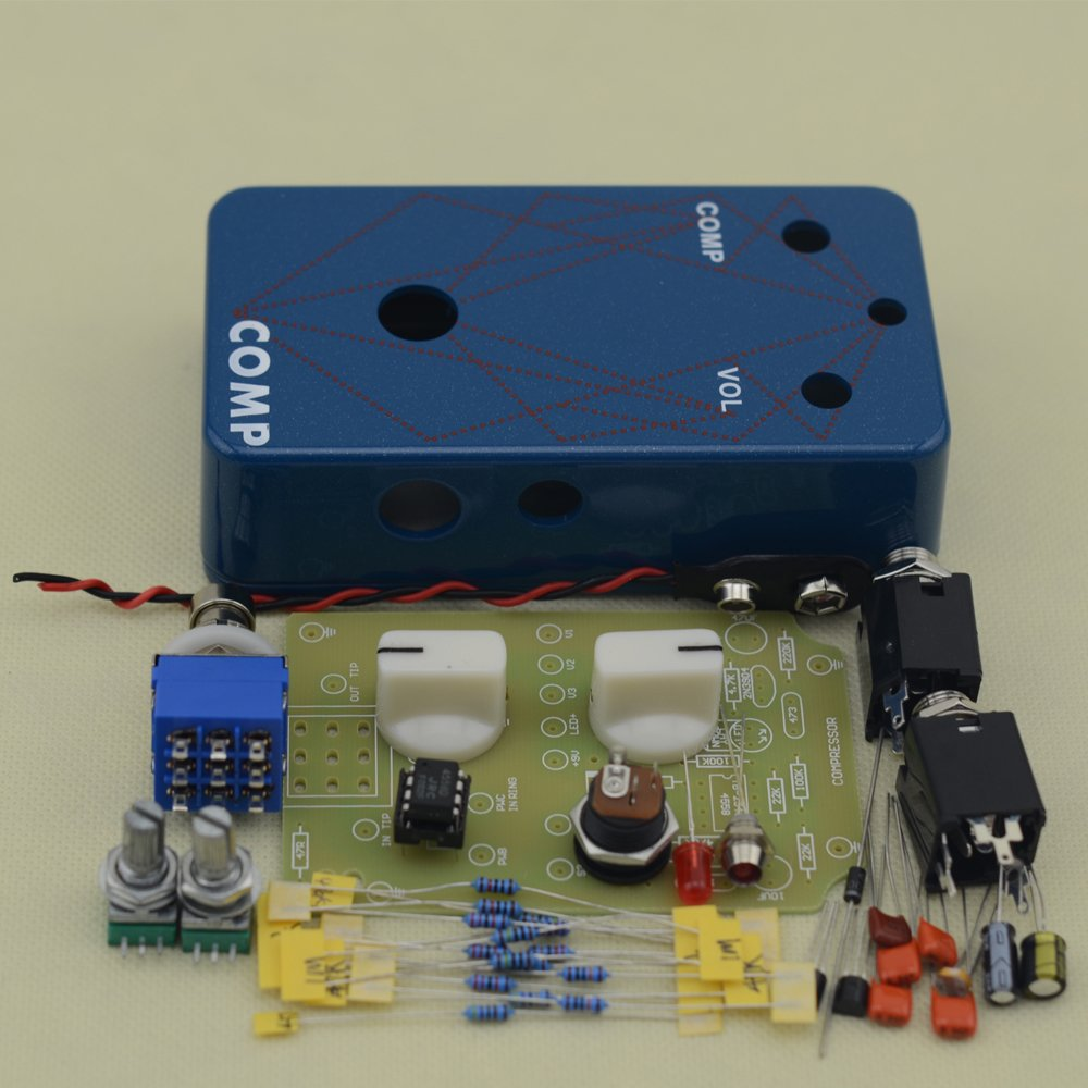 Make Your Own Compressor Effects Pedal All Kits With 1590B