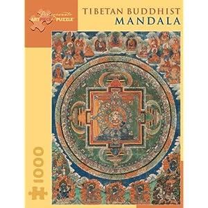 Tibetan Buddhist Mandala 1000 Piece Puzzle Inglese Giocattolo 1 Apr 2005
