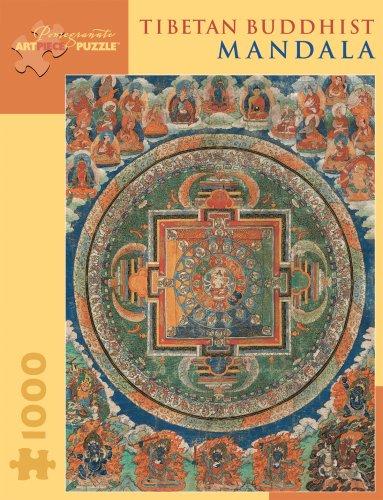 Tibetan Buddhist Mandala 1,000-Piece Jigsaw Puzzle (Pomegranate Artpiece Puzzle) (Inglés) Juguete – 1 ago 2010 Gina Bostian 0764929119 Asian Puzzles - General