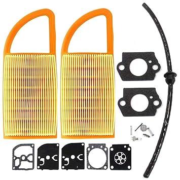 Aisen Filtro de aire Carb Kit de reconstrucción de ...