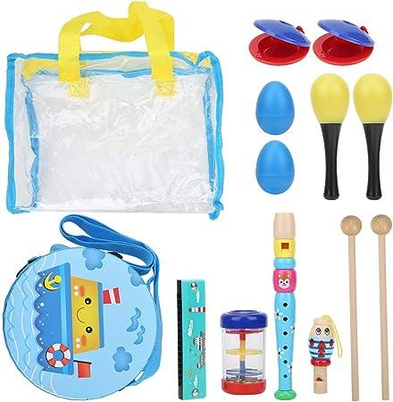 Orff Toy Set Instrumentos musicales seguros para el medio ...