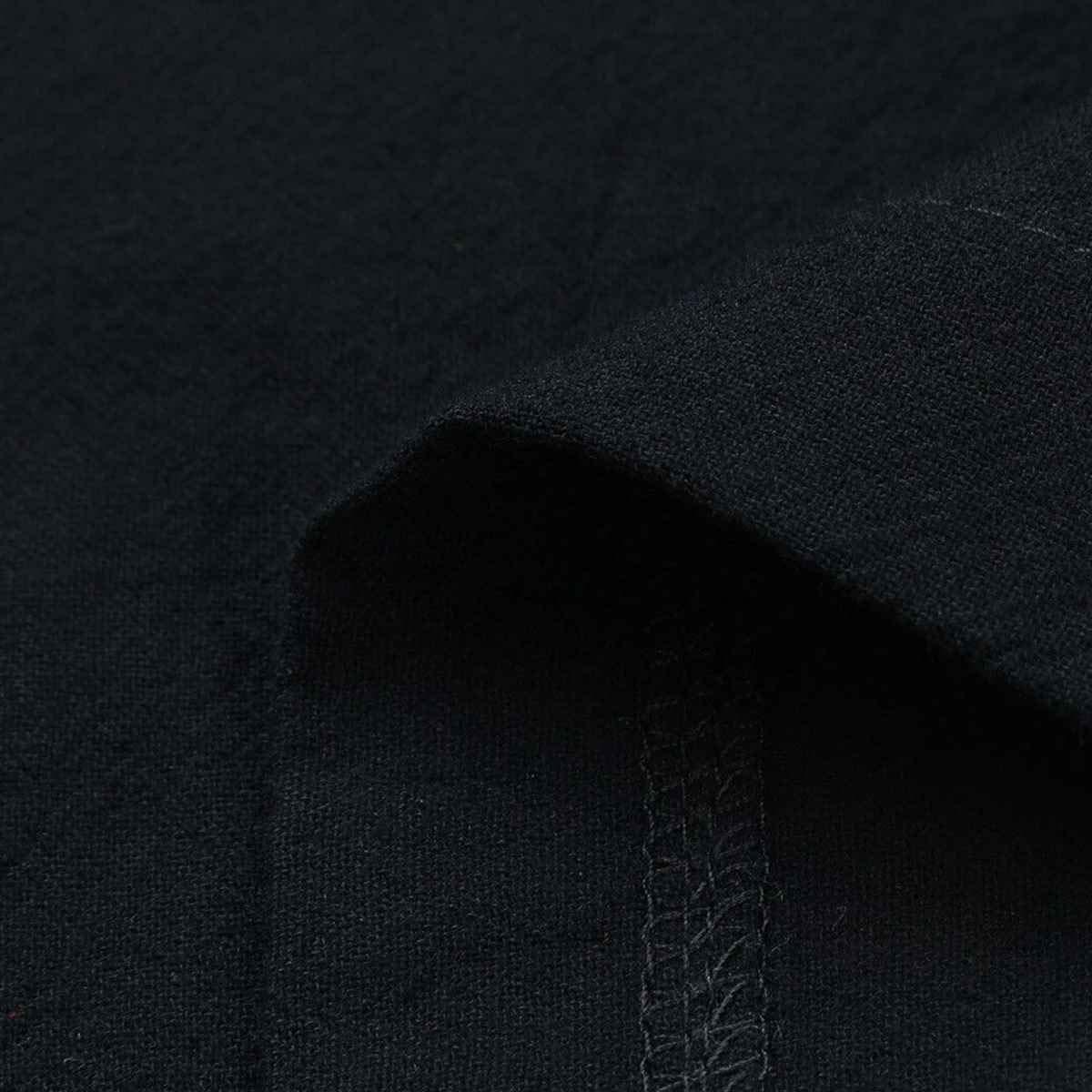 SAMGU Vestito da Grembiule Casual Tinta Unita Vestito Lungo da Donna con Grembiule Quadrato Incrociato in Lino