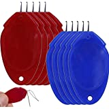 Needle Threader for Sewing Plastic Wire Loop DIY Simple Needle Threader Hand Tool Sewing Tool for Sewing Crafting (5 pcs, Sty