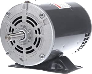Dayton 1 HP Direct Drive Blower Motor, 3-Phase, 1725 Nameplate RPM, 208-230/460 Voltage, Frame 56 - 4YU38