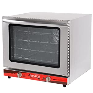 Avantco CO-28 Half Size Countertop Convection Oven, 2.3 Cu. Ft. - 208/240V, 2800W