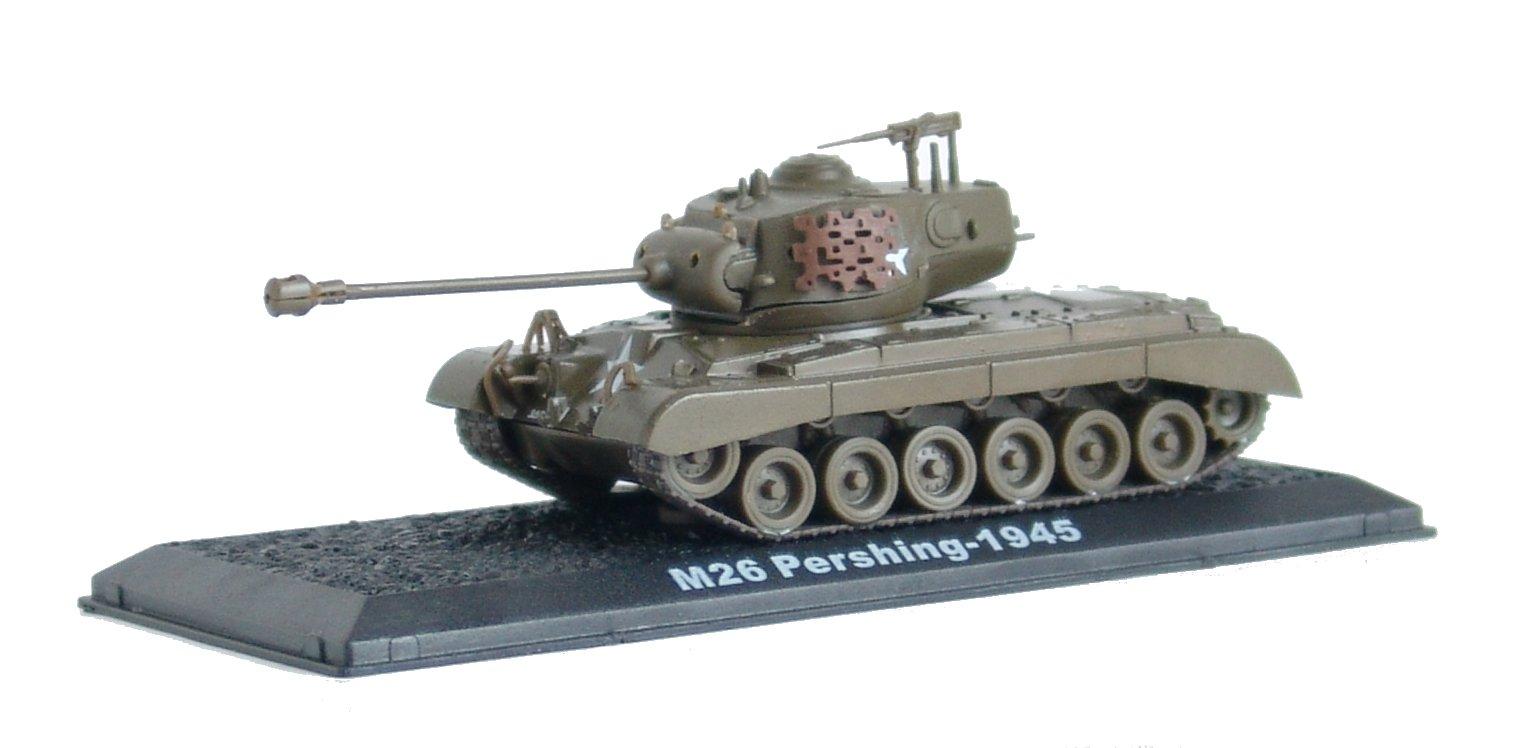 M26 Pershing - 1945 diecast 1:72 model (Amercom CS-9)