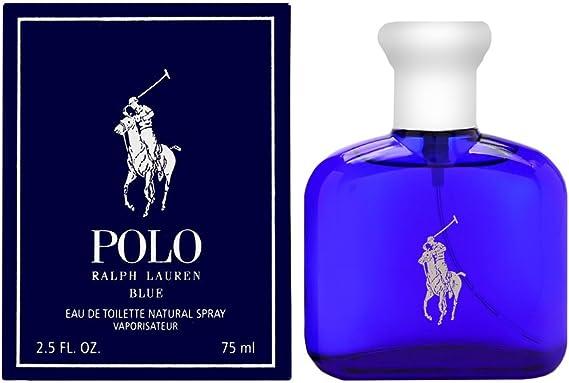 Ralph Lauren Polo Blue Eau de Toilette Vaporizador 125 ml: Amazon ...