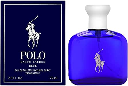 Ralph Lauren Polo Blue for Men Eau de Toilette, 75ml