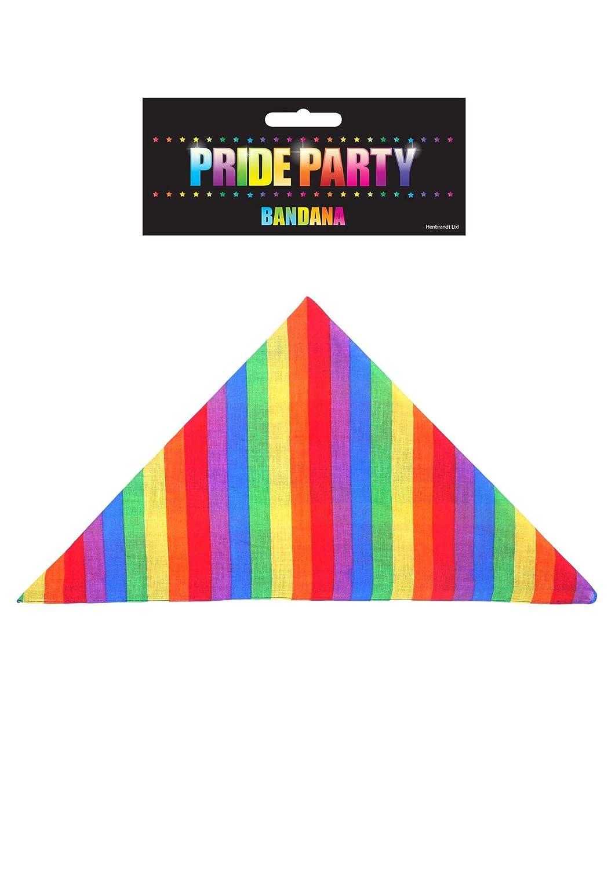 Fancy Dress Rainbow Bandana Gay Pride Accessory