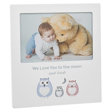 Hueco de búho marco de fotos \'We Love You To The Moon And Back\' para ...