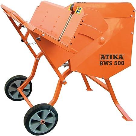 Atika BWS 500/ Scie circulaire /à bascule/// banc de scie /à buche pour coupe de bois de chauffage