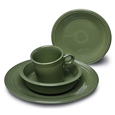 Fiesta 16-Piece Dinnerware Set | Sage