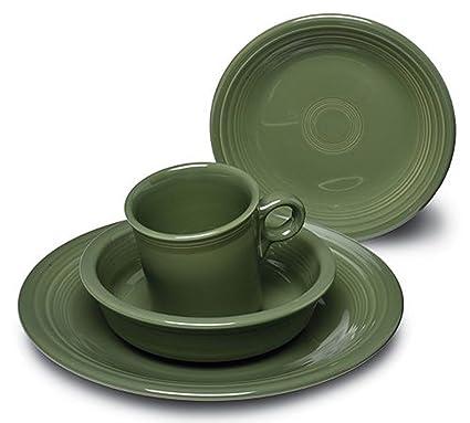 Fiestaware 16- Piece Dinnerware Set | Sage Green  sc 1 st  Amazon.com & Amazon.com | Fiestaware 16- Piece Dinnerware Set | Sage Green ...