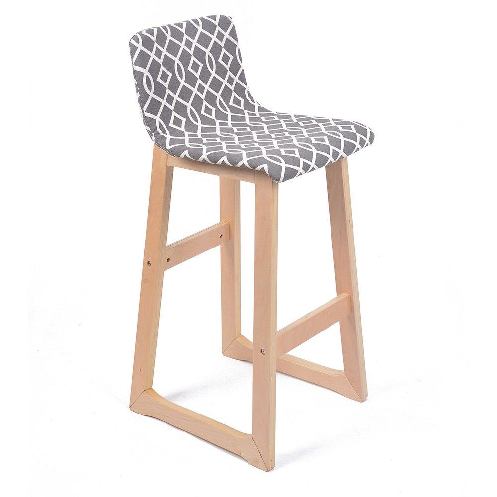 Terrific Amazon Com Chelsea Contemporaneo Madera Tejido Barstool Andrewgaddart Wooden Chair Designs For Living Room Andrewgaddartcom