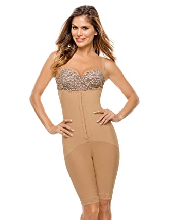 61af6cb1b9 Leonisa Women s Latex Tummy Slimmer and Butt Lifter Compression Shaper