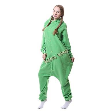 92ac51b0fed2 Adult Mike Wazowski Onesie Costume Kigurumi Cosplay Unisex Cartoon  Sleepwear  Amazon.co.uk  Clothing