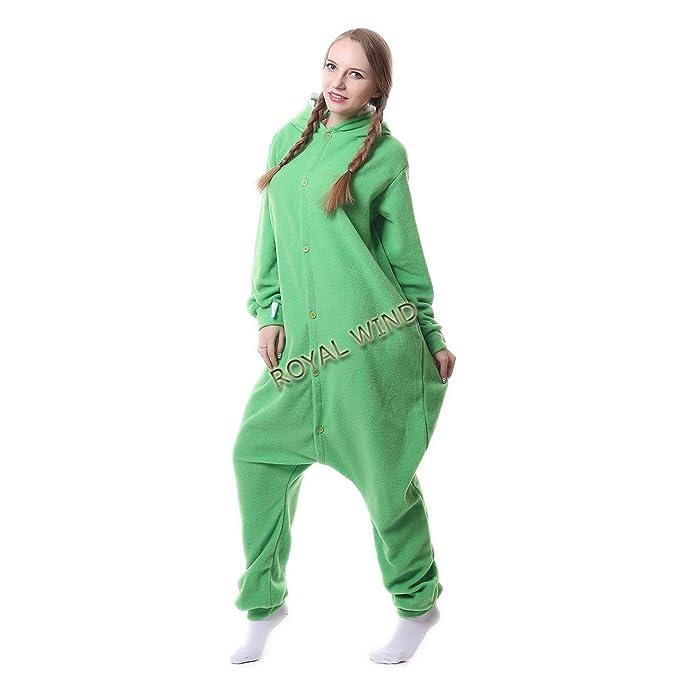 ROYAL WIND - Pijama de una Pieza - para Mujer Verde Verde XL