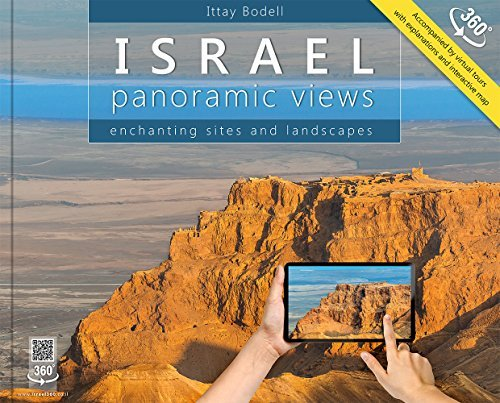 Israel: Panoramic Views; Enchanting Sites and Landscapes (Large Format) by Ittay Bodell (2014) Hardcover (Landscape Photo Album)