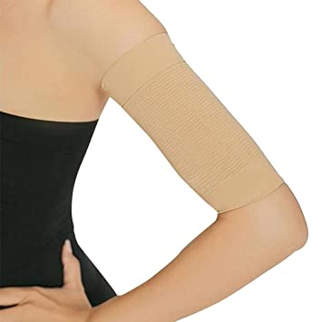 e53c4251ca ROSENICE 1 Pair Slimming Compression Arm Shaper Burn Fat Weight Loss Arm  Shaper Fat Buster Off