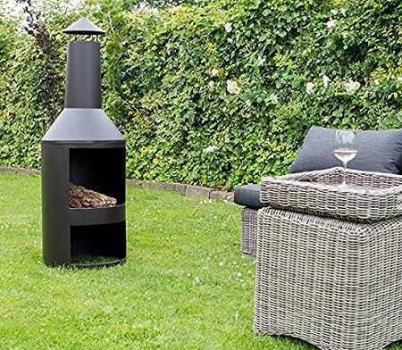 Gartenkamin Feuerstelle Dortmund HEAT Outdoor Living Terrassenofen Gartenofen Modena