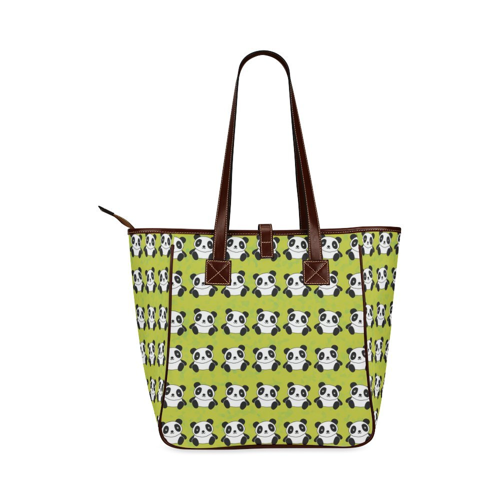 6a5718a3c Amazon.com: Interestprint Custom Classic Women Top Handbag Panda Pattern Classic  Tote Bag: Shoes