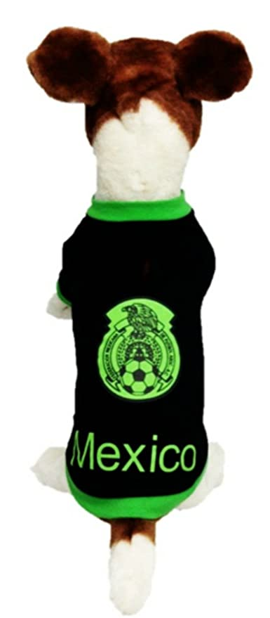 My Pet Boutique dog soccer jersey Mexico, Great dog jersey, dog shirt (2XL