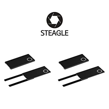 STEAGLE Black Laptop Webcam Privacy Shield Cover For Notebook Laptop Camera
