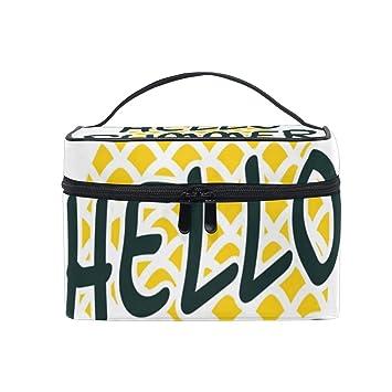 Amazon.com: Hello Summer - Estuche de maquillaje para piña ...
