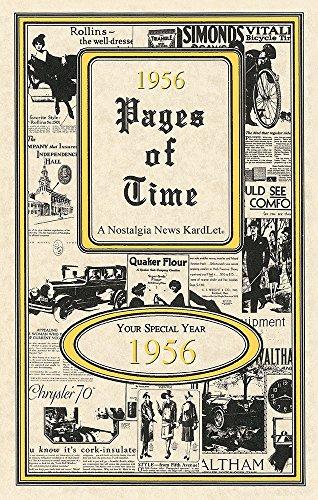 Seek Publishing 1956 Pages of Time Kardlet (PT1956)