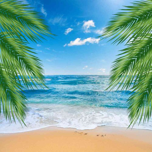 Beautiful-Beach-10-x-10-CP-Backdrop-Computer-Printed-Scenic-Background-GladsBuy-Backdrop-ZJZ-752
