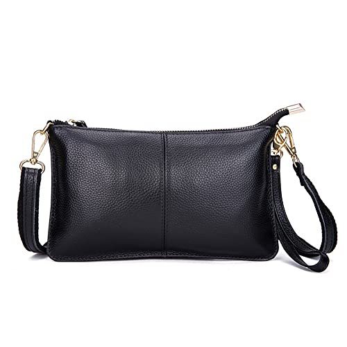 761ffbf80b42 Image Unavailable. Image not available for. Color: Women Genuine Leather  Clutch Envelope Purse ...