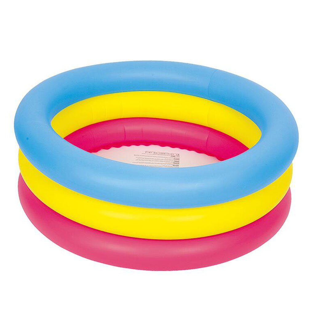 A  YZ Piscine Gonflable de la Piscine des Enfants a épaissi la Grande Piscine de Piscine d'isolation de Famille (Couleur   D)