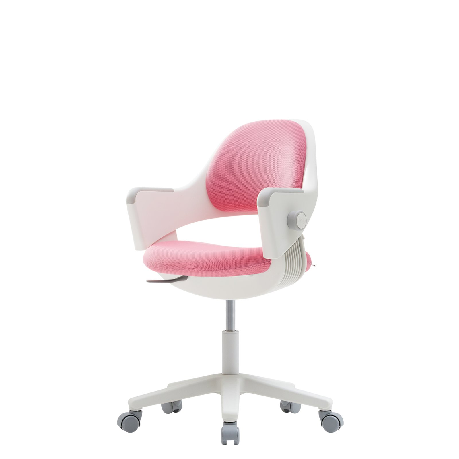 sidiz NEW Ringo Kids Desk Chair Growing Adjustable [Fixed type] (Fabric_Pink_F573L)