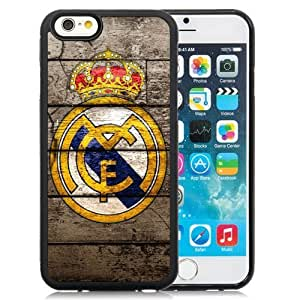 Personalized Case Cover For SamSung Galaxy S4 Case Design with Real Madrid Iphone 5/5S th Hard Black Cell Phone Case
