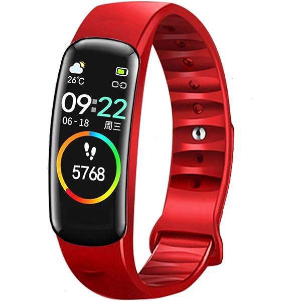 Compteur de Calories Multifonction L/éger de Traqueur dActivit/é Intelligent VGEBY1 Bracelet de Podom/ètre