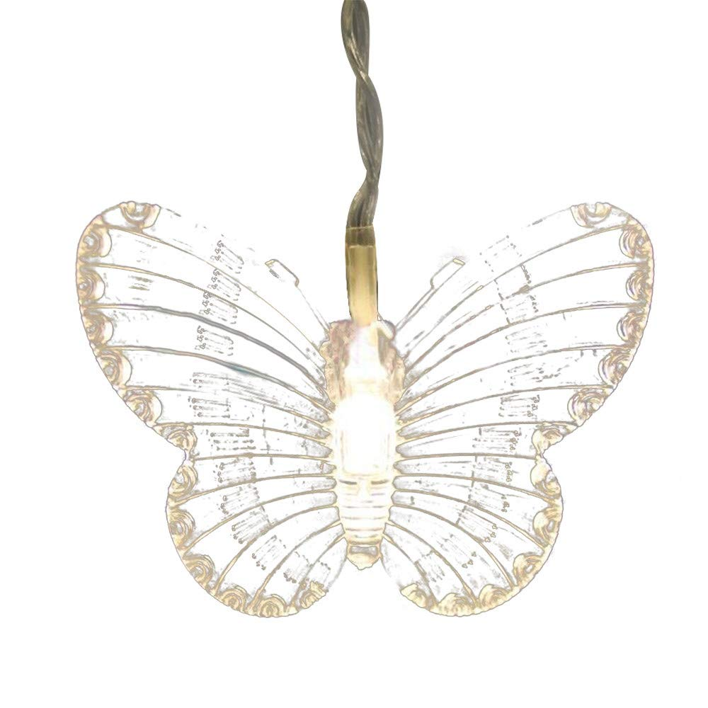 Butterfly LED String Curtain Lights Colorful Wedding Children Room Decor Lamp