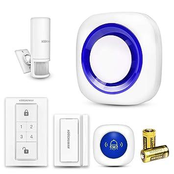 Sistema de Alarma Puerta de Seguridad 4 en 1 Sensores de ...