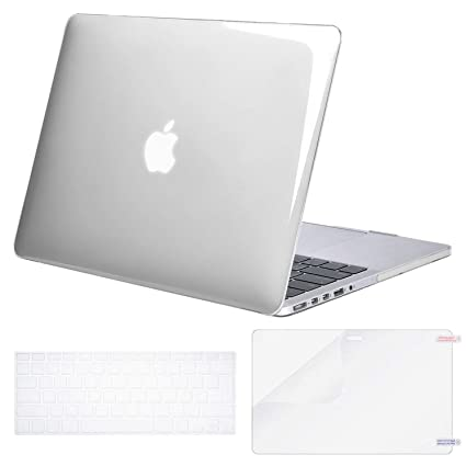 MOSISO Funda Dura Compatible con MacBook Pro 13 Retina A1425 ...