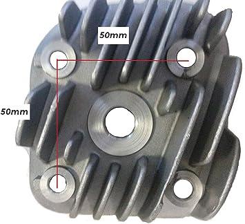 70cc//50cc 2 Stroke 1PE40QMB Minarelli Jog Engine Cylinder Head with Gaskets Kit