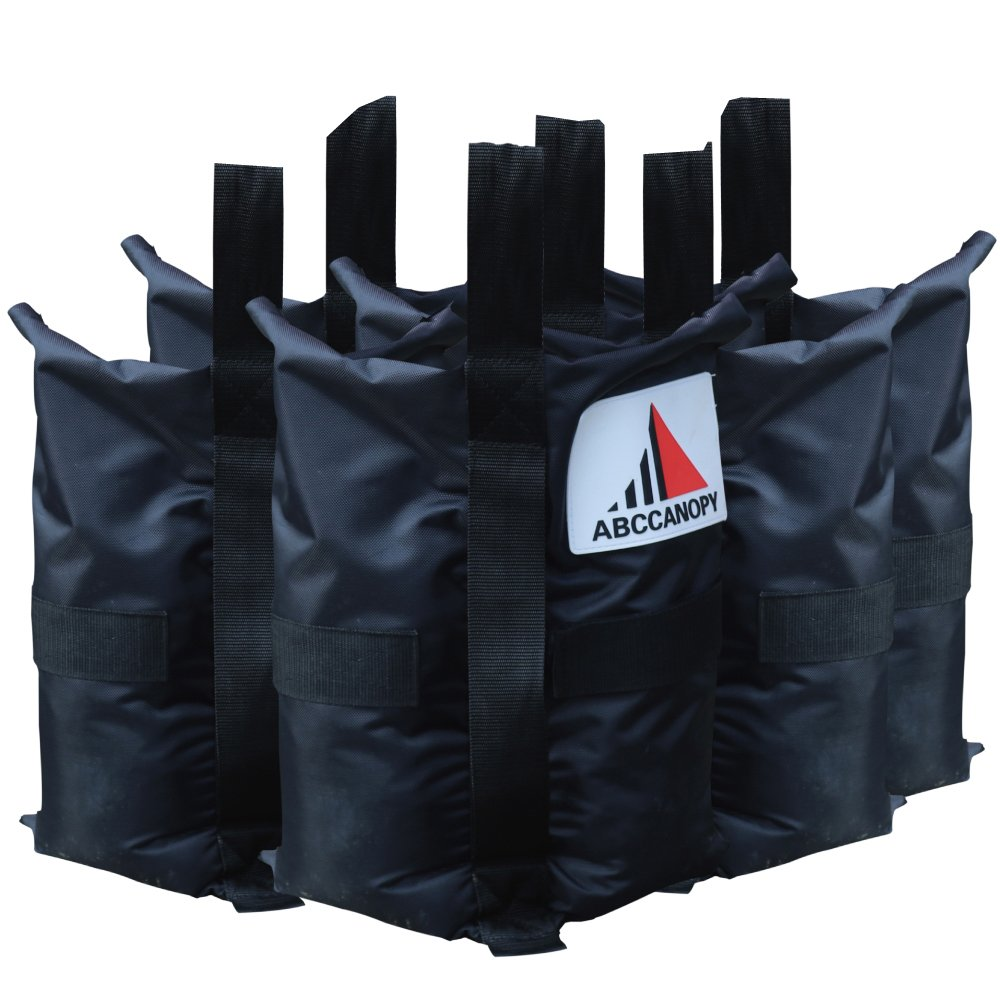 ABCCANOPY Heavy Duty Premium Instant Shelters Gazebo Weight Bags - Set of 4-40lb Capacity per Bag