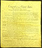 The Bill of Rights Large 23''x 29''  High Quality Replica of Historical Document