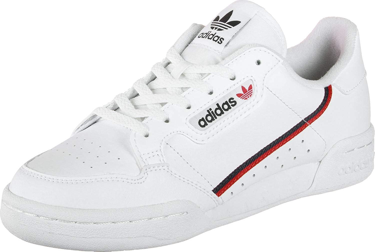 Adidas Continental 80 J, Zapatillas de Deporte Unisex-Child, Blanco (Ftwbla/Escarl/Maruni 000), 37 1/3 EU: Amazon.es: Zapatos y complementos