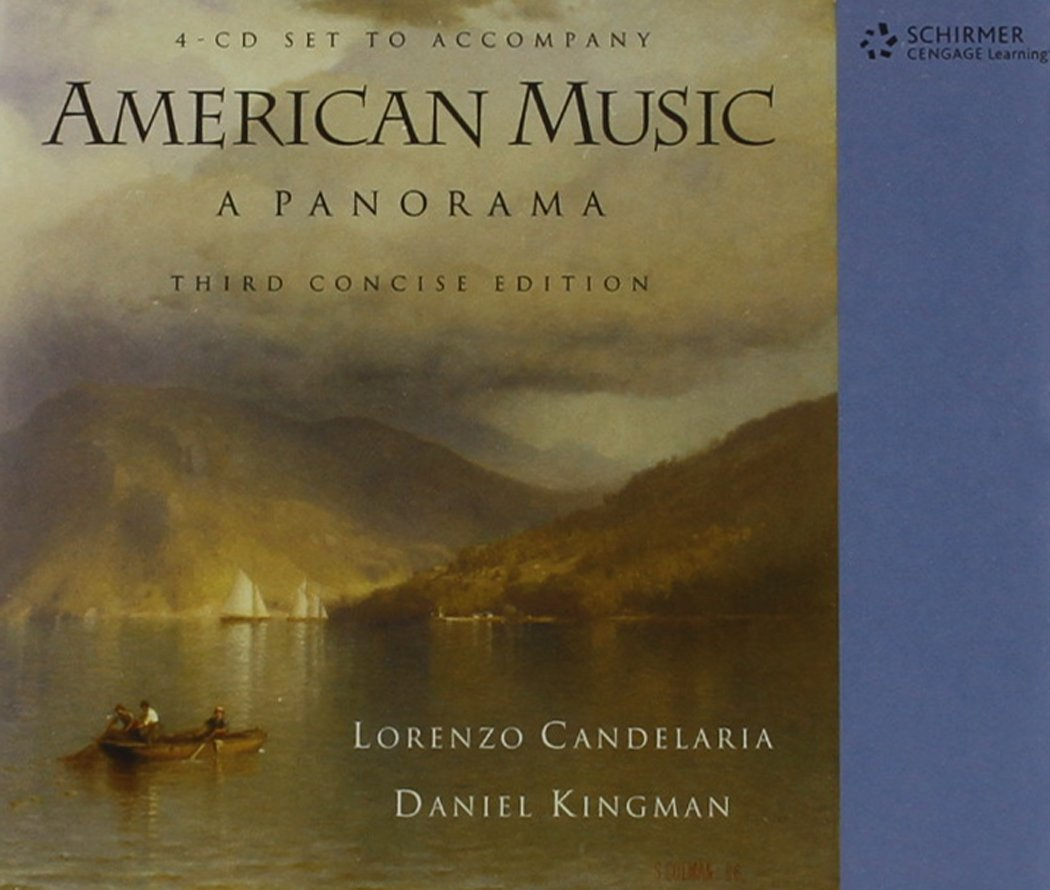 Download 4-CD Set for Candelaria/Kingman's American Music: A Panorama, Concise Edition, 3rd PDF