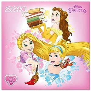 Grupo Erik Editores Calendario 2018 30X30 Disney Princess