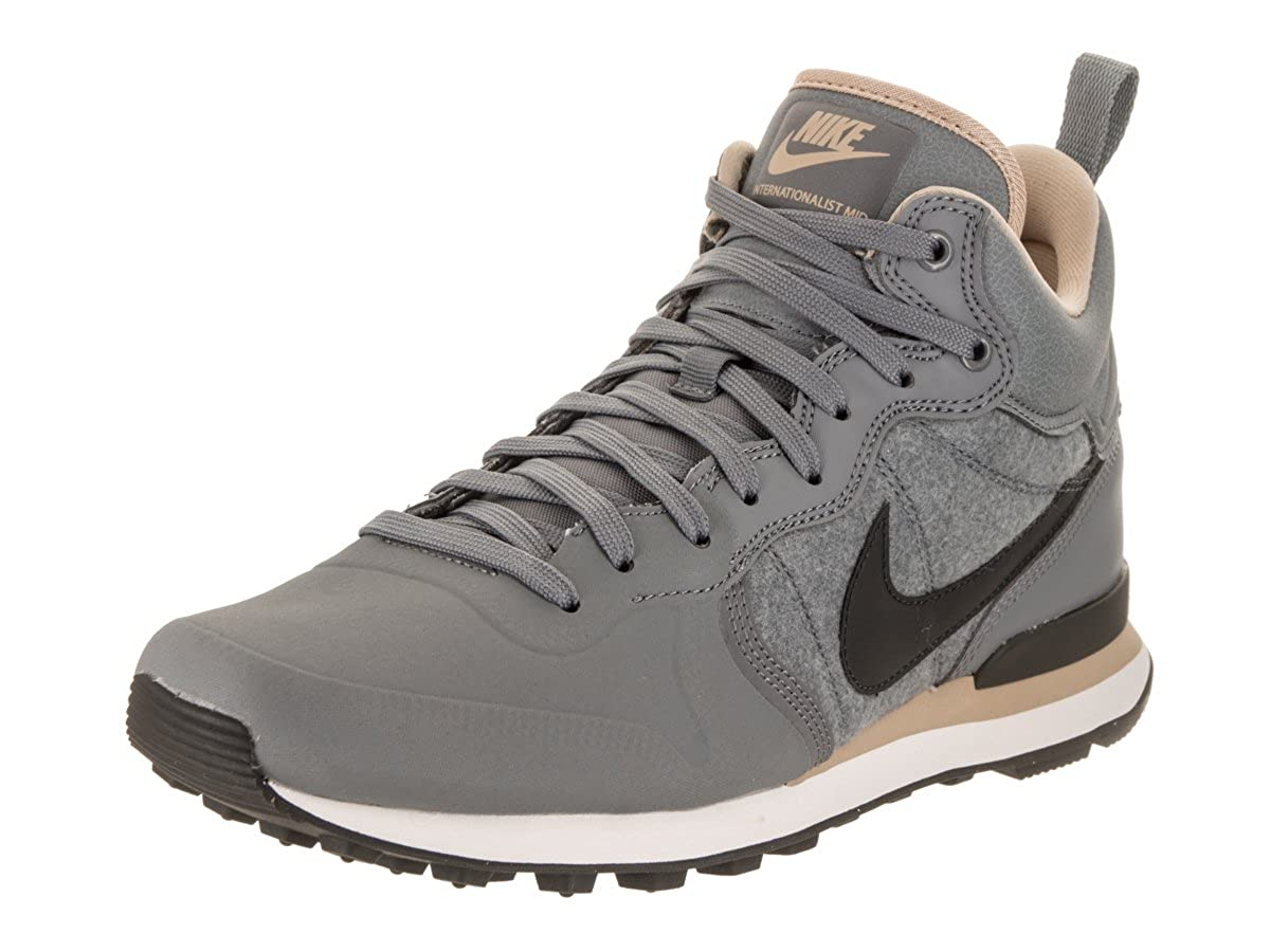 best service b80f1 dce42 Amazon.com   NIKE Internationalist Utility Wool Upper Pack 857937-003  Grey Pewter Men s Shoes (9)   Fashion Sneakers