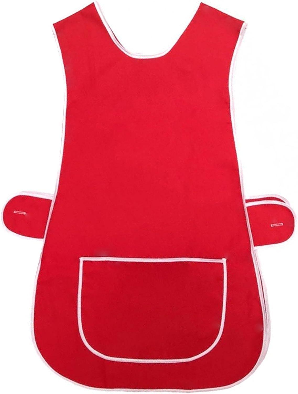 und Haushaltsarbeiten f/ür Damen Myshoestore/® K/üchensch/ürze aus Poly-Baumwolle mit gro/ßer Seitentasche mit Knopfverschluss ideal f/ür K/üchen