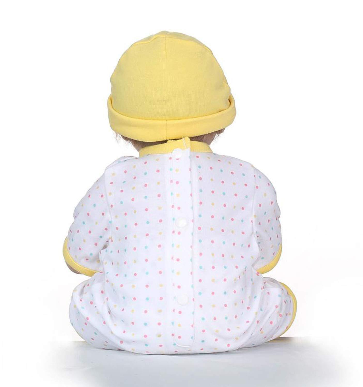 Amazon.com: Muñeca de bebé Reborn Reuly Real de 19 pulgadas ...