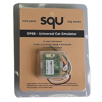 Squ of68 Universal coche emulador Squ of68 coche emulador señal Reset Immo programas lugar ESL diagnóstico