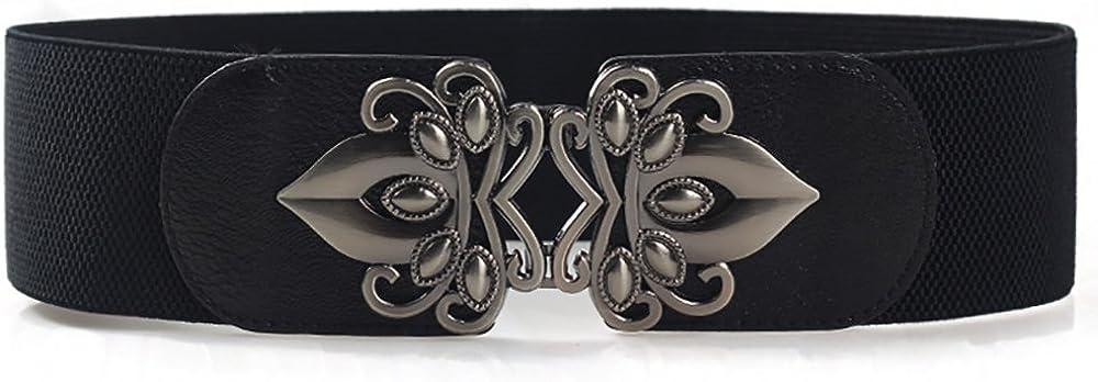 Women belt waist adjustable belt fashion wide belt for dress