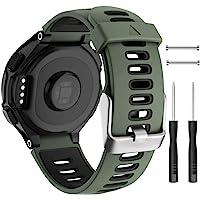 Isabake Garmin Forerunner 735XT armband vervanging, Garmin 235 band, zachte siliconen band voor 620 630 235 235 Lite 220…